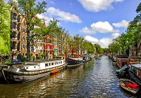Luxury hotels in Amsterdam